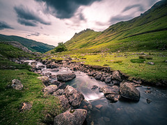 Helm Crag - Lake District, England - Landscape photography (Giuseppe Milo (www.pixael.com)) Tags: photo england unitedkingdom nature outdoor clouds mountain river helm uk helmcrag photography travel sky lakedistrict landscape europe geotagged valley ambleside onsale