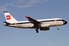 G-EUPJ BRITISH AIRWAYS AIRBUS A319-131 (Roger Lockwood) Tags: geupj ba airbusa319 manchesterairport man egcc
