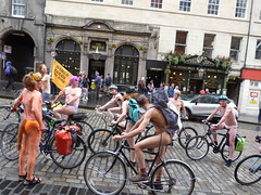 World Naked Bike Ride Edinburgh 2019 (30) (Royan@Flickr) Tags: world naked bike rid edinburgh festival cycling public nudity nude bicycles wnbr 2019
