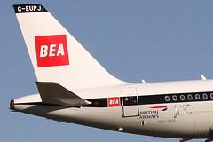 G-EUPJ BRITISH AIRWAYS AIRBUS A319-131 (Roger Lockwood) Tags: geupj ba airbusa319 manchesterairport egcc man