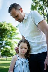L1010977.jpg (Jorge A. Martinez Photography) Tags: family spring park photo shoot leica leicaq leicaq116 morning green grass blue sky daughters fair skin friends