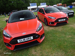 Race Red (BenGPhotos) Tags: 2019 motorsportatthepalace crystalpalace park sports car 2018 ford focus mk3 rs race red edition hot hatch gl18urs rs18ade