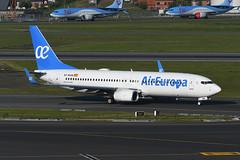 EC-MXM Boeing B738-85P EBBR 13-05-19 (MarkP51) Tags: ecmxm boeing b73785p b737 aireuropa ux aea brussels zaventem airport bru ebbr belgium airliner aircraft airplane image markp51 nikon d500 sunshine sunny nikon200500f56vr