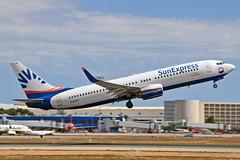 D-ASXC Boeing 737-86N SunExpress Germany PMI 28-05-19 (PlanecrazyUK) Tags: lepa sonsantjoanairport aeroportdesonsantjoan palmademallorcaairport dasxc boeing73786n sunexpressgermany pmi 280519