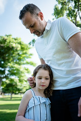 L1010976.jpg (Jorge A. Martinez Photography) Tags: family spring park photo shoot leica leicaq leicaq116 morning green grass blue sky daughters fair skin friends