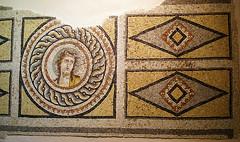 dionysos portreli mozaik/ dionysos portrait mosaic