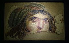 çingene kızı mozaiği / mosaic of gypsy girl (gaia)