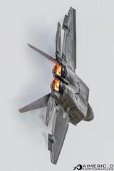 Lockheed Martin F-22 A Raptor (Aimeric D. Photographies) Tags: f22 fihter aircraft avion plane spotter riat fairford usaf meeting aérien aerien air pilot take off landing