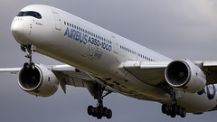 Airbus Industries Airbus A350-1041 F-WMIL (Thomas Saunders Photography) Tags: airbus a350 aeroplane heathrow lhr canon 6d 100400 airplane xwb a3501000 a35k london