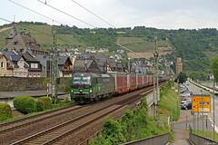 ELL/TXL 193 265 in Oberwesel, 05.06.2019 (-cg86-) Tags: vectron br193 ell güterzug railway freight rheintal rheinstrecke rhineriver