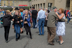XPRO7017-1 Brighouse 1940's weekend June 1st 2019 (Lawrence Holmes.) Tags: fuji xpro1 xf1855mmf284rlmois streetphotography street brighouse brighouse1940sweekendjune1st2019 brighouse1940sweekend nostalgia ww2 fashion dancing calderdale westyorkshire uk lawrenceholmes
