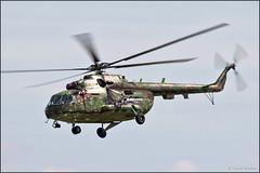 Mil Mi-17 HIP (Pavel Vanka) Tags: slovakairforce slovakiaairforce mil mi17 mi8 military helicopter digitalcamo digitalcamouflage lkcv caslav czech czechrepublic aircraft plane airplane spotter spotting fly flying airshow aviation canon