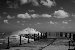 Angry Sea (Paulie-W) Tags: hastings seafront waves windy summer splash