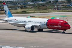Norwegian B787-9 LN-LNN (José M. Deza) Tags: 20190607 b7879 bcn boeing elprat lebl lnlnn norwegain planespotting spotter aircraft
