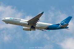 Air Transat A330-243 C-GUFR (José M. Deza) Tags: 20190605 a330243 airtransat airbus bcn cgufr elprat lebl planespotting spotter aircraft