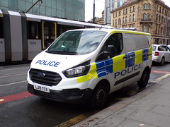 6379 - GMP - LJ19 TCV - 101_3058 (Call the Cops 999) Tags: uk gb united kingdom great britain england 999 112 emergency service services vehicle vehicles police policing constabulary law and order enforcement 101 gmp greater manchester ford transit cell van lj19 tcv