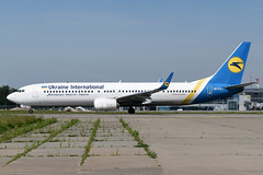 UR-PSJ Ukraine International Airlines Boeing 737-9KV(ER)WL) at Kiev Boryspil International Airport on 28 May 2019 (Zone 49 Photography) Tags: aircraft airliner aeroplane may 2019 kiev kyiv ukraine boryspil international kbp ukbb ps aui airlines boeing 737 739 900 9kv er wl urpsj