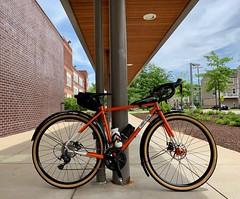 All City Macho Man Disc (Mr.TinDC) Tags: bike bicycle biking allcity machoman machomandisc orange