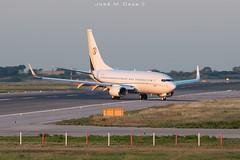 Town & Country Food Market B737-75VBBJ N43PR (José M. Deza) Tags: 20190608 bcn elprat lebl planespotting spotter aircraft