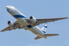EL AL B777-258ER 4X-ECD (José M. Deza) Tags: 20190605 4xecd b777258er bcn boeing elal elprat lebl planespotting spotter aircraft