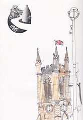 Stoke Minster (Eyeshoot Photography) Tags: instagram ifttt stokeontrent watercolour staffordshire usk fabrianosketchbook urbansketching urbansketch uskuk1019 uskuk stokeminster