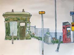 Burslem Toilet (Eyeshoot Photography) Tags: stokeontrent watercolour staffordshire usk fabrianosketchbook urbansketching urbansketch uskuk1019 uskuk burslem