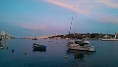 Sliema Harbour (rhomboederrippel) Tags: rhomboederrippel htc onemini malta europe tassliema may 2019 harbour mediterrenian yacht eveninglight dusk blue