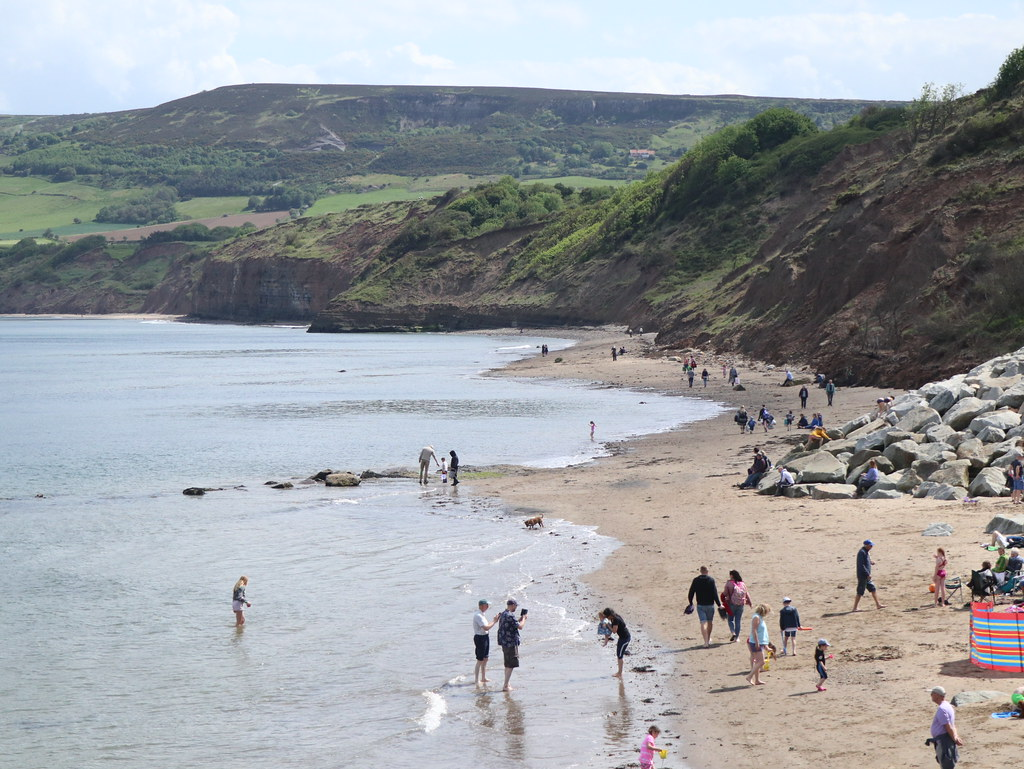 Robin Hoods Bay South Beach