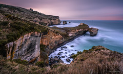 Tunnel Beach Sunrise (hakannedjat) Tags: sunrise tunnelbeach newzealand dunedin nz nzmustdo sony sonynz sonya7riii a7riii longexposure
