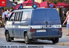 Z914 - Volkswagen Transporter T4 - KSP (Pawel Bednarczyk) Tags: z914 hpza865 vw volkswagen transporter t4 ksp kkp komisariat kolejowy policji komenda stołeczna warszawa stolica elektra lbo 10t elfir zura ps100r police polizei policecar bus warsaw poland politi