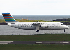 SE-RJI (Harvey's Aviation Images) Tags: serji british areospace avro rj100 bra braathens regional airlines e3357 egns iom ronaldsway airport isleofman