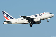 F-GUGL (Andras Regos) Tags: aviation aircraft plane fly airport bud lhbp spotter spotting takeoff airfrance airbus a318