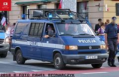 Z701 - Volkswagen Transporter T4 - OPP Warszawa (Pawel Bednarczyk) Tags: z701 hpza487 hpz a487 vw volkswagen transporter t4 ksp komenda stołeczna policji warszawa stolica elektra lbo 10t elfir zura ps100r opp oddziały prewencji police polizei policecar bus warsaw poland politi głośnik głośniki tdi diesel
