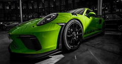 The green Devil (Iso_Star) Tags: sony ilce7m3 samyangaf14mmf28 14mm samyang porsche porschegt3rs auto sportwagen car