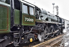 Crewe Cheshire 8th June 2019 (loose_grip_99) Tags: crewe cheshire england uk railway railroad rail train open day hoskins workshops steam engine locomotive gassteam preservation transportation works uksteam trains railways britishrailways britannia brit standard 7 pacific 462 70000 june 2019