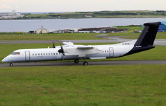 G-ECOK (Harvey's Aviation Images) Tags: gecok 4230 bombardier dash8 q400 flybe egns iom ronaldsway airport isleofman