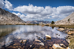 Great Western Divide came into view (ScorpioOnSUP) Tags: a7iii bealpha easternsierra greatwesterndivide guitarlake jmt jmt2018 johnmuirtrail sequoianationalpark sierranevada sonyalpha abovetimberline adventure backcountry clouds lake landscape landscapephotography mountains nature outdoors reflection thruhike wilderness