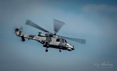 Agusta Westland AW159 Wildcat (RTA Photography) Tags: torbayairshow2019 torbay paignton rtaphotography nikond750 d750 tamron70300 sky outdoors aircraft royalnavy blackcats augustawestland devon helicopter rotablades wildcat aw159