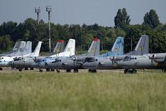 Ukranian Air Force Antonovs at Kiev Boryspil International Airport on 28 May 2019 (Zone 49 Photography) Tags: aircraft airliner aeroplane may 2019 kiev kyiv ukraine boryspil international kbp ukbb air force antonov