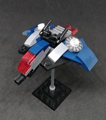 MB-02 Moonbow Multirole Fighter (Vitoria Faria) Tags: dogfight df fighter lego ship spaceship starfighter mobileframezero mfz mf0