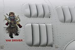 Yakovlev YAK-55M c/n 920401, N55MY, WarBird Aircraft & Car Show, Front Range Airport, Watkins, CO, 28 July 2018. (skyhawkpc) Tags: 2018 kftg ftg frontrangeairport watkins colorado co nikon allrightsreserved garyverver copyright yakovlev yak55m 920401 n55my aviation airplane aircraft airshow noseart yakdriver