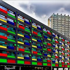 Multicolore (DOMVILL) Tags: architecture couleurs domvill immeuble urbanisme wwwflickrcompeoplevildom