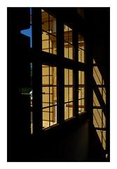 19 [titre la promesse] (Armin Fuchs) Tags: arminfuchs lavillelaplusdangereuse würzburg veitshöchheim schloss window light shadow stripes yellow blue anonymousvisitor thomaslistl wolfiwolf jazzinbaggies diagonal fujixt3 velvia