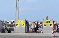 Luggage Bingo (RadarO´Reilly) Tags: harlesil fähre ferry gepäck luggage hafen port harbor nordsee northsea küste coast street streetphotography