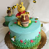 Winnie the Pooh Smash (Ale - Bakeandfun) Tags: cake fondantcake lakewoodranch pretty specialty