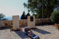Greek Memorial (Terry Hassan) Tags: greek memorial flag stone sculpture cyprus κύπροσ kıbrıs