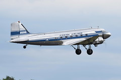 OH-LCH DC-3 Finnish Airlines (eigjb) Tags: daks over duxford aerodrome air base airport airfield normandy dday landings 75th anniversary aircraft airplane plane spotting aviation ww2 world war warbird military airshow egsu 2019 douglas dc3 c47 transport paradropper ohlch finnish airlines