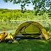 Camping Setup at William O'Brien State Park, Minnesota