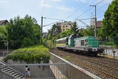 BB 69400 et Mauzin 214 (Marc_135) Tags: bb69400 bb69464 infra fret exfret mauzin mauzin214 besançon mulhouse belfort train rail soleil vert muséedutrain ruedesjardins