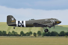 "42-92847 C-47A ""That's All .... Brother"" (eigjb) Tags: daks over duxford aerodrome air base airport airfield normandy dday landings 75th anniversary aircraft airplane plane spotting aviation ww2 world war warbird military airshow egsu 2019 douglas dc3 c47 transport paradropper 4292847 c47a thatsallbrother n47tb caf commemorative force usaaf army"
